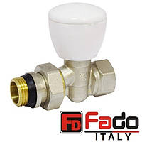 Кран радиаторный 3/4'' прямой верхний FADO NEW Италия