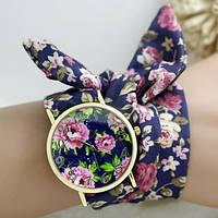 Нежные наручные женские часы на ленте, фото 1