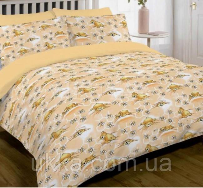 Детское постельное белье в кроватку хлопковое Вилюта