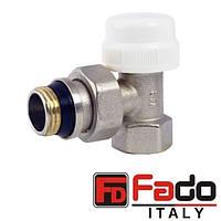 Кран радиаторный 1/2'' термостатический угловой FADO Италия