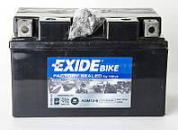 Мото аккумулятор EXIDE AGM 12-8