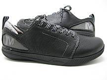 Демисезонные кроссовки Merrell нубук светло серые