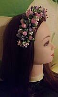 """Ободок для волос """"Нежные тюльпаны"""", фото 1"""