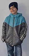 Куртка демисезонная на мальчика р-р 128, ТМ Одягайко, фото 1