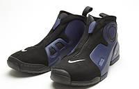 Баскетбольные кроcсовки мужские Nike Air Flightposite Black-blue