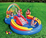 """Детский игровой центр-бассейн  """"аквапарк Радуга"""" Intex 57453"""