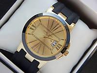 Мужские (Женские) кварцевые наручные часы Ulysse Nardin на силиконовом ремешке с датой