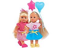 Кукла Еви с воздушным шариком, 12см , Evi Love Simba, 2 вида