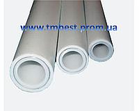 Труба полипропиленовая диаметр 50 мм армированная алюминием PPR-AL-PPR Stabi для систем отопления.
