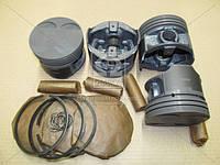 Поршень цилиндра ЗМЗ 406 d=92,5 (п/п+ стакан + поршневые кольца ) (грубойВ)(Black Edition)М/К (МД Кострома)
