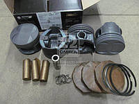 Поршень цилиндра ЗМЗ 406 d=92,5 (п/п+ стакан + поршневые кольца ) (грубойГ)(Black Edition)М/К (МД Кострома)