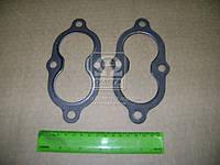 Прокладка трубы приемной ВОЛГА (ЗМЗ 4062) (4+2 отверстий) (производитель ГАЗ) 3110-1203240