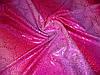 """Бифлекс с голографией """"кожа рептилии"""" цвета фуксии"""