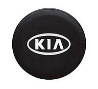 """Чехол для запасного колеса. """"KIA"""" 65х25, фото 1"""