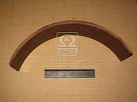 Накладка тормозная ГАЗ 53 заднего длинная (производитель УралАТИ) 53-3502105