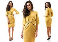 Платье женское короткое с ремешком P1172, фото 1
