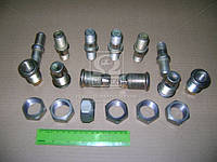 Ремкомплект ступицы ГАЗ 3307,53 правый (шпильки,футорки,гайки), фирменной упаковке (производитель ГАЗ)