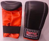 Перчатки снарядные Reyvel, кожа-винил, фото 1