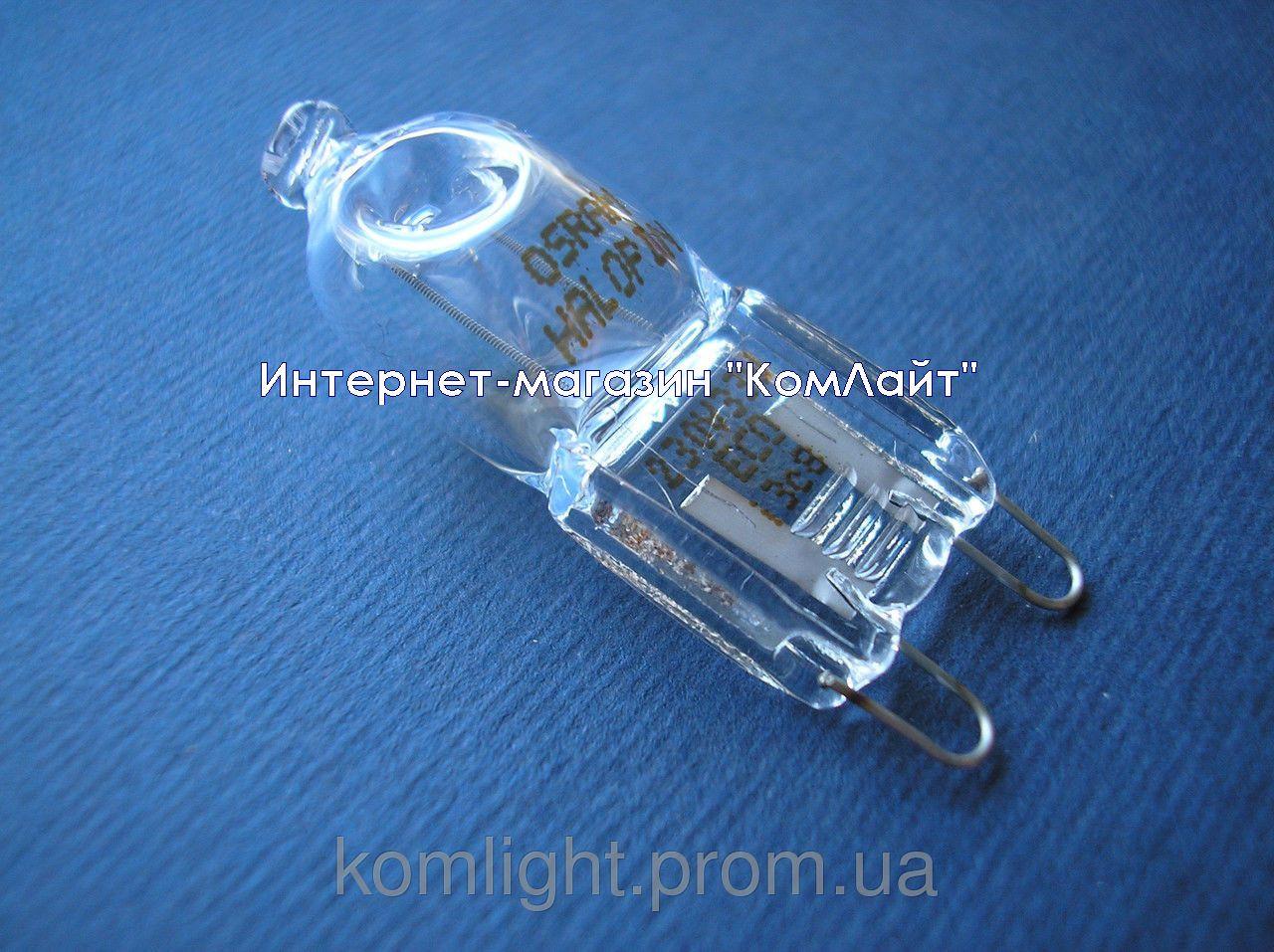 Лампа галогенная 66733 OSRAM 33W 230V G9 прозрачная (Германия)