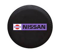 """Чехол для запасного колеса. """"Nissan"""" 65х25, фото 1"""