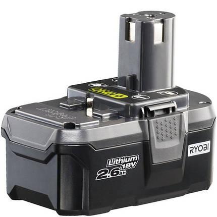 Литий-ионный аккумулятор  Ryobi RB18L26 , фото 2