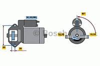 Стартер ford transit 2.2tdci 2006- (производство Bosch ), код запчасти: 0001109324