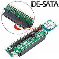 "Адаптер 44Pin IDE на SATA 2.5"" HDD угловой, фото 1"