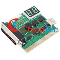 Пост карта USB LPT PCI 2х значная, фото 1
