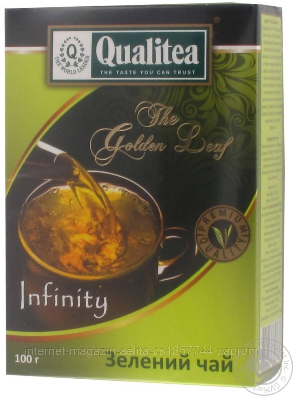 Чай Кволіті крупнолистовий зелений 100г