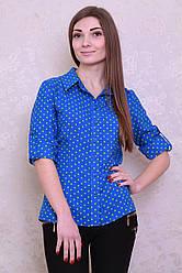 Красивая и стильная блуза из штапеля
