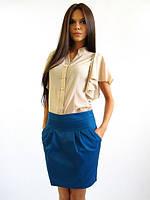 Молодежная юбка с кармашками.