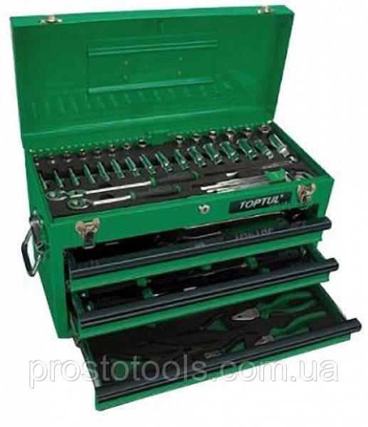 Ящик с инструментом 3 секции 99 ед Toptul  GCAZ0038