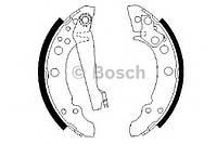 Колодка тормозная барабанная Audi 80,VW GOLF, Passat (производство Bosch ), код запчасти: 0986487002