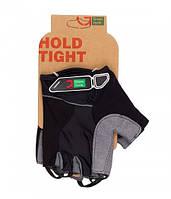 Перчатки Green Cycle NC-2519-2015 Road без пальцев M черные