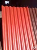 Шифер металлический полимерный глянец 0,4 мм ( Х х 1,13)