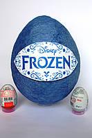Большое яйцо-сюрприз с игрушками  FROZEN