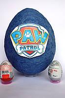 Большое яйцо-сюрприз с игрушками Щенячий Патруль