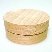 Коробка подарочная из букового шпона 1601 (160*45 мм)