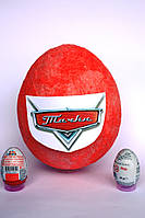 Большое яйцо-сюрприз с игрушками Тачки