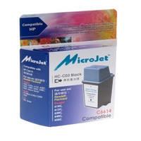 Картридж струйный MicroJet для HP DJ 610C/640C/656C аналог HP 20 Black (HC-C03)