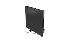 Економний электрокерамичсекий обігрівач FlyMe 450P чорний, фото 3