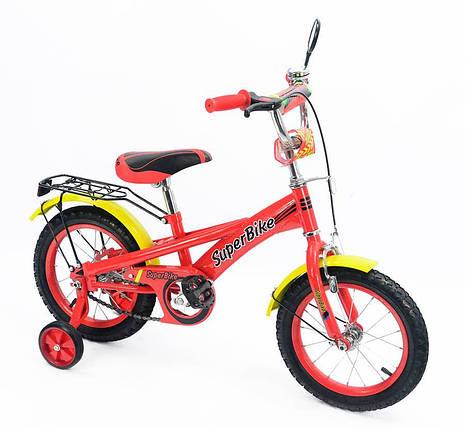 """Детский Велосипед """"Super Bike"""" 2-х колесный 14 колеса 151402, фото 2"""