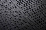 Резиновые передние коврики в салон BMW X3 (E83) 2004-2010 (STINGRAY), фото 3