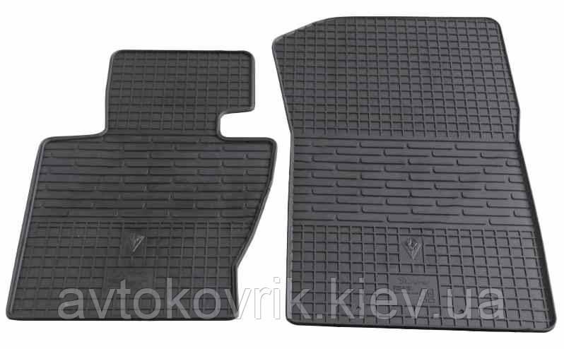 Резиновые передние коврики в салон BMW X3 (E83) 2004-2010 (STINGRAY)