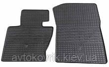 Гумові передні килимки в салон BMW X3 (E83) 2004-2010 (STINGRAY)