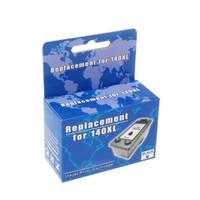 Картридж струйный MicroJet для HP Officejet J5783/J6483 аналог HP 140XL Black (HC-F37L) повышенной емкости