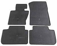 Резиновые коврики для BMW X3 (E83) 2004-2010 (STINGRAY)