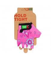 Перчатки Green Cycle NC-2529-2015 Kids без пальцев XL розовые