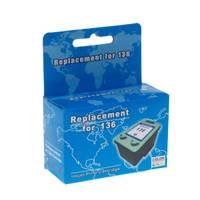 Картридж струйный MicroJet для HP PSC 1513 аналог HP 136 Color (HC-F34D)