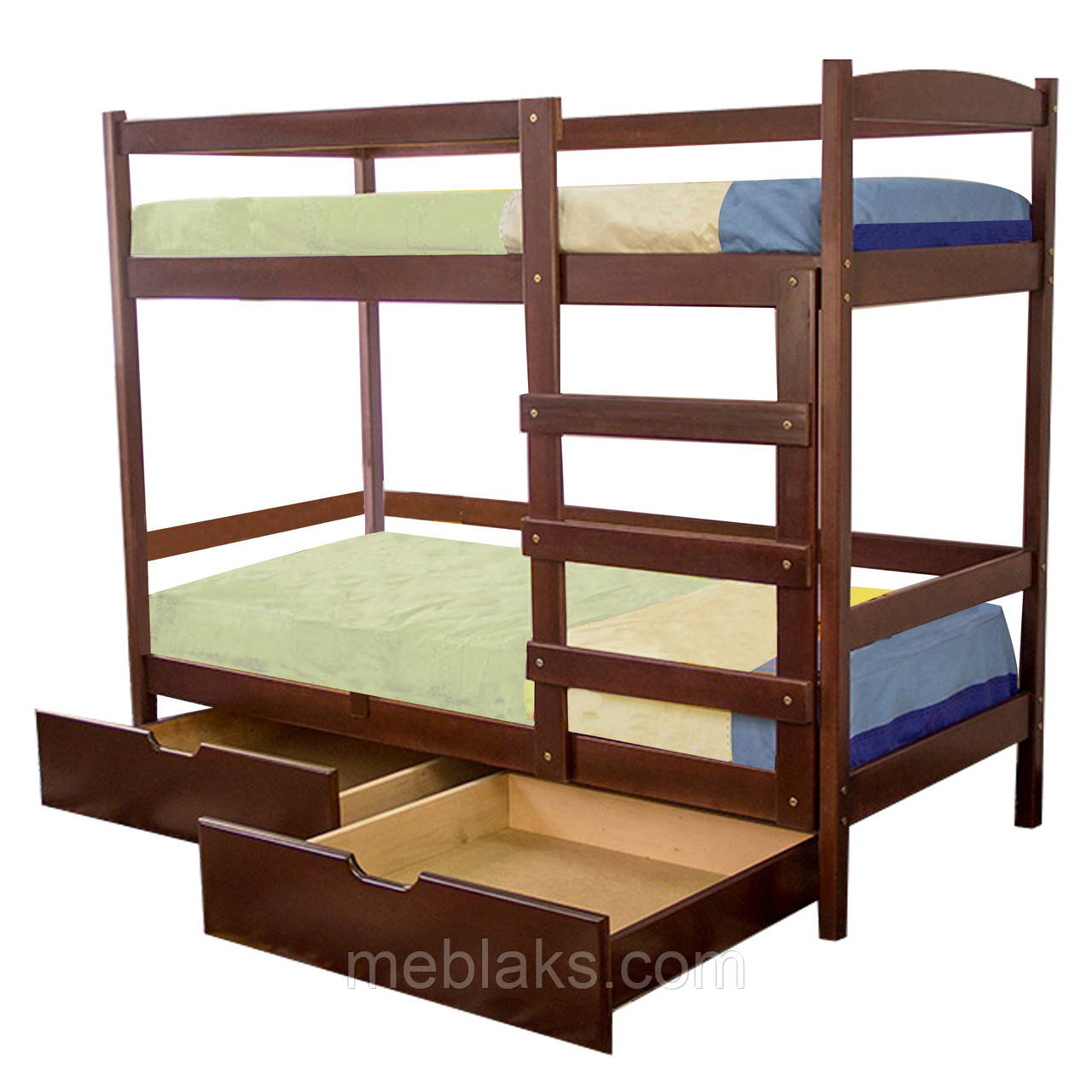 """Кровать двухярусная из натурального дерева """"Мира""""  Voldi"""